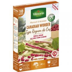 Haricot nain à écosser CANADIAN WONDER - VILMORIN