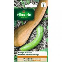 Courge Musquée DE NICE À FRUITS LONGS - VILMORIN