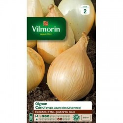 Oignon CÉNOL (type jaune des Cévennes) - VILMORIN