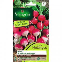 Radis Ronds en Mélange - VILMORIN