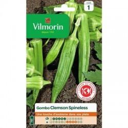 Gombo (Okra) CLEMSON SPINELESS - VILMORIN