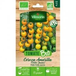 Tomate CEREZA AMARILLA (Cerise Jaune) BIO - VILMORIN