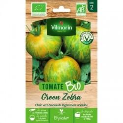 Tomate GREEN ZEBRA BIO - VILMORIN