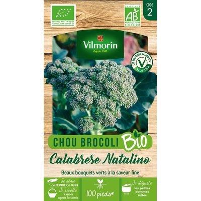 VILMORIN CHOU BROCOLIS CALABRAISE BIO