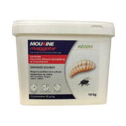 Insecticide MOUXINE MAGGOTS