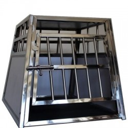 Cage Simple Inox - Chien Taille S