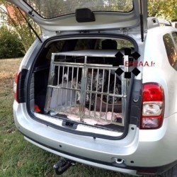Conditionnement Cage Simple Inox - Chien Taille XXL