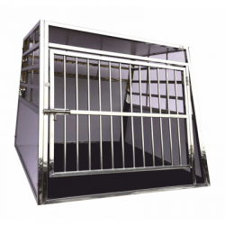 Cage Simple Inox - Chien Taille XL